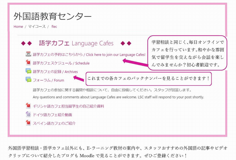 大学 東京 外国 moodle 語