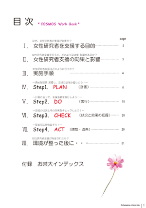 Cosmos Work Book目次